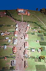 Model of Castle Street, Bellaghy